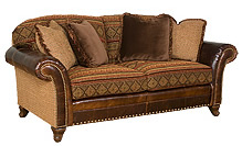 King Hickory Leather Sofa Harry Loory Fine Furniture